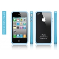 SGP iPhone 4 Case Neo Hybrid EX Series [Tender Blue] (SGP07026)